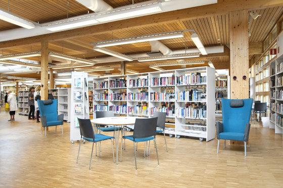 Frontline de Lammhults Biblioteksdesign