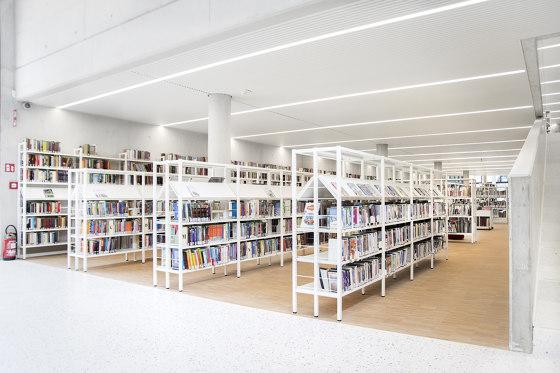 Uniflex de Lammhults Biblioteksdesign