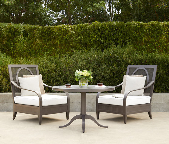CHARLES CONTINENTAL TABLE ROUND 100 di JANUS et Cie