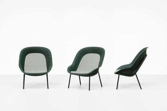 Nook PET Felt Lounge Chair by De Vorm