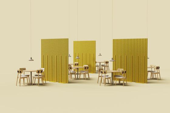 Mute Flat PET Felt Acoustic Panel by De Vorm