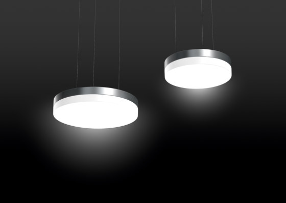 Douala® Slim Recessed ceiling and wall luminaires, semi-recessed ceiling and wall luminaires de RZB - Leuchten