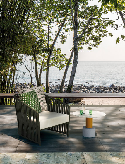 Bitta lounge full dining chair by KETTAL
