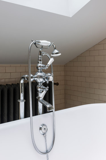 Thermostatic bath-shower mixer Deck mounted by Kenny & Mason