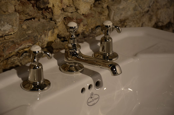 3-hole basin mixer by Kenny & Mason