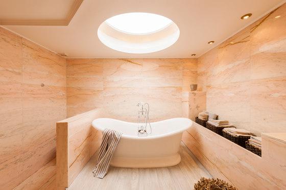 The Big white bath by Kenny & Mason