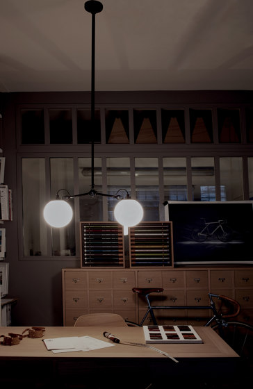 LAMPE GRAS - N°305 | black satin by DCW éditions