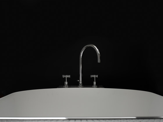 DCA Deck Mounted Hand Shower Assembly by Czech & Speake