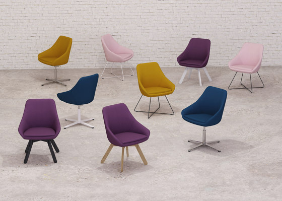 Calyx Lounge chair de Viasit