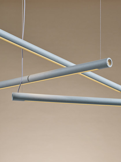 O-Beam Up-and-down-light by Hand & Eye Studio