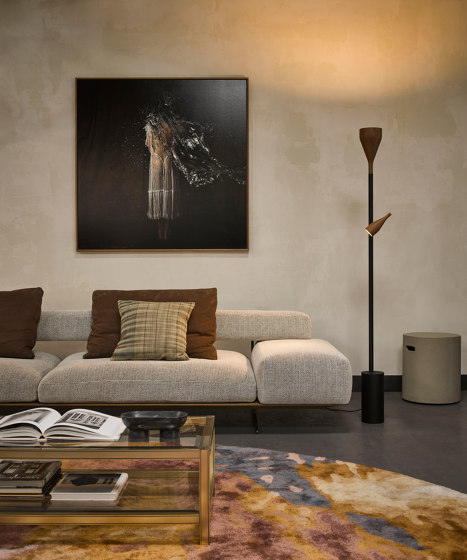 Timber, black, large by Hollands Licht