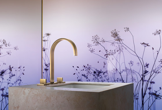 MEM - Cover plate for the concealed WC cistern made by TECE by Dornbracht