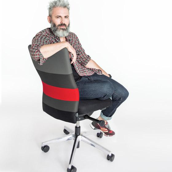 agilis | Office chair with headrest de lento