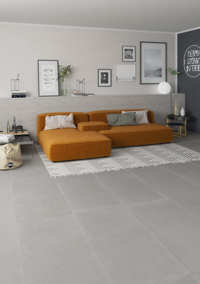 Concrete Light Grey | Frame di Rondine