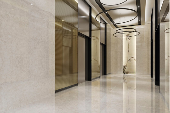 Selecta Super Blanco-Crema High-gloss Polished by INALCO
