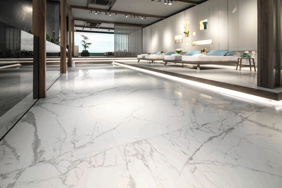 Syros Super Blanco-Gris Matt Polished by INALCO