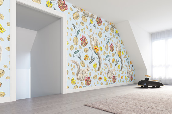 Squirrel   artist wallpaper by Ginny Litscher