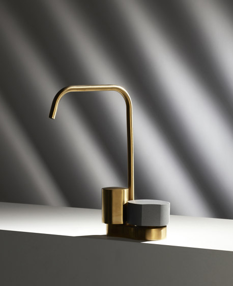So F3191A   3-holes basin mixer with swivel spout by Fima Carlo Frattini
