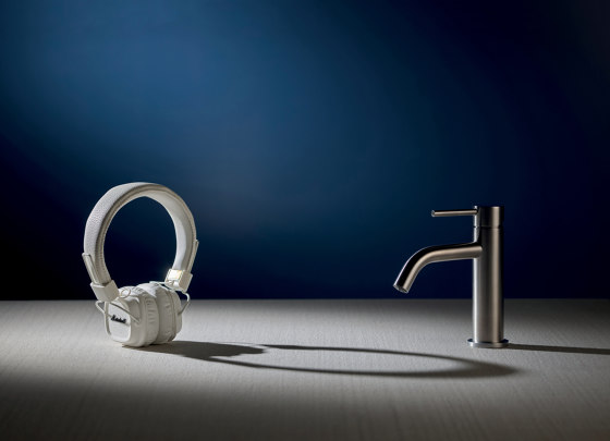 Spillo Steel F3079X2 | Single lever bath and shower mixer for concealed installation with 2 outlets diverter by Fima Carlo Frattini