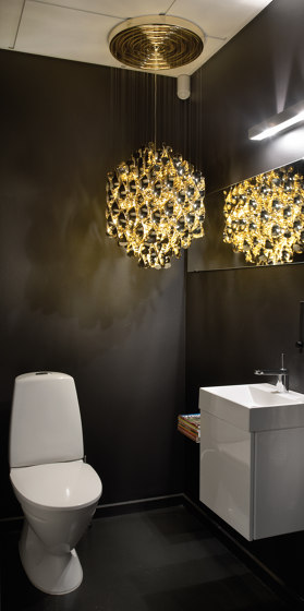 Spiral SP1 Multicolor | Hanging lamp by Verpan
