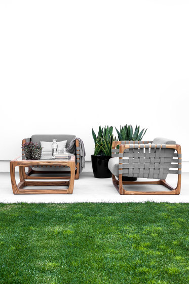 Bungalow Outdoor Bar Stool by Riva 1920