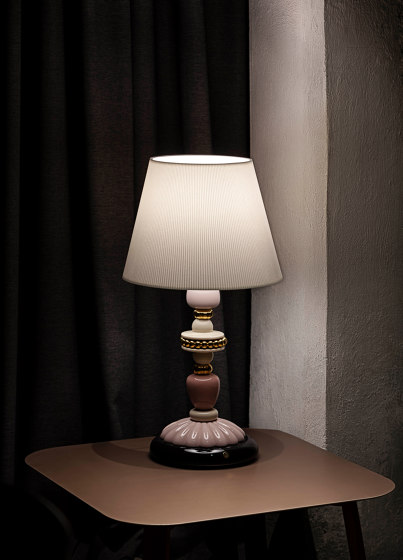 Firefly Floor Lamp |  Pink and Golden Luster (CE) de Lladró