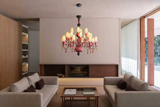 Ivy and Seed 16 Lights Chandelier | Medium Flat Model | Spices (CE/UK) de Lladró