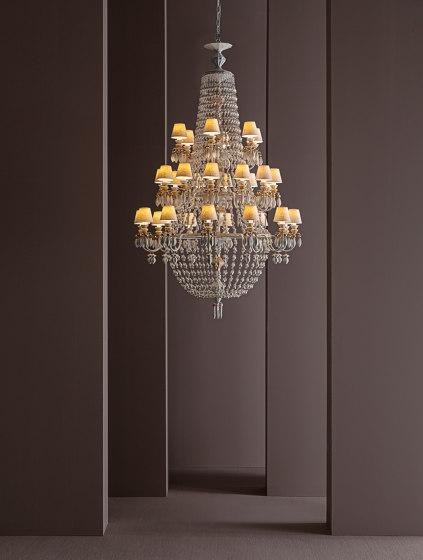 Winter Palace 30 Lights Chandelier | White (CE/UK) de Lladró