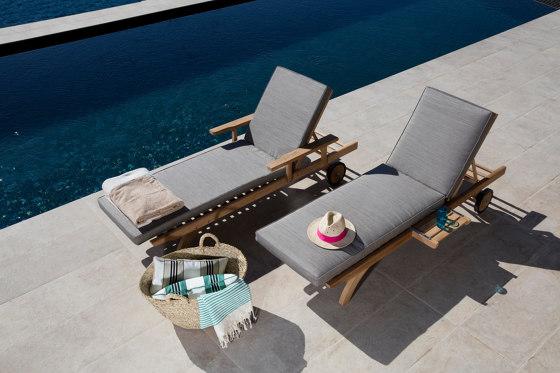 Camarat   Sunlounger XL by Tectona