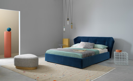 New York Box | Bed by Saba Italia