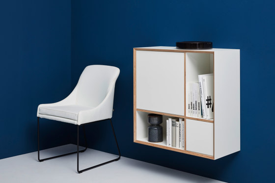 Vertiko cabinet furniture module lacquered in 20 colours by Müller small living