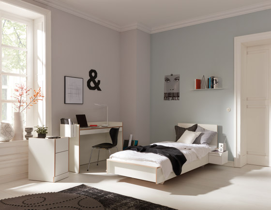 Flai Single Wardrobe CPL anthracite by Müller small living