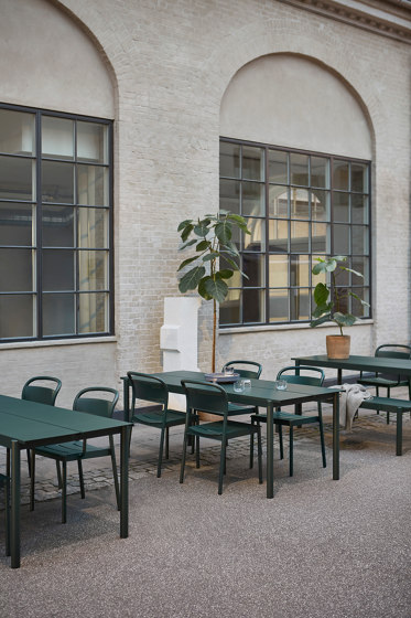 Linear Steel Chair | Seat Pad by Muuto