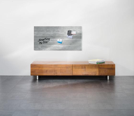 Magnetic Glass Board Artverum, 130 x 55 cm by Sigel