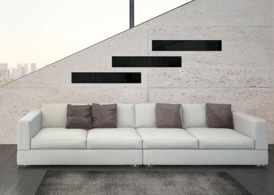 Magnetic Glass Board Artverum, 12 x 78 cm by Sigel