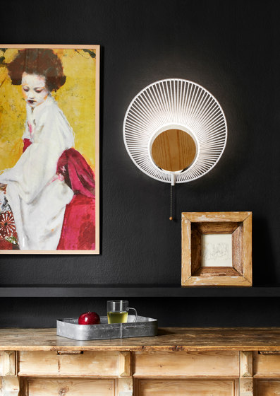 Oyster | Table Lamp | White by Forestier