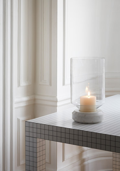 Base Light | Candle Holder | L Marble de Forestier