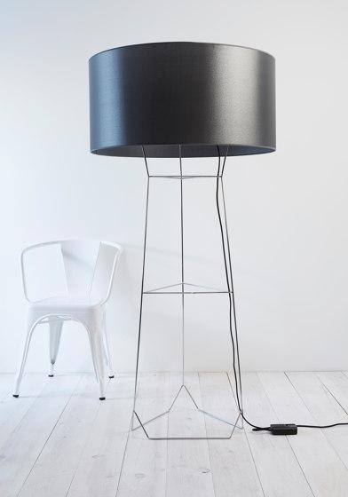 Dom | Floor Lamp | Black von Forestier