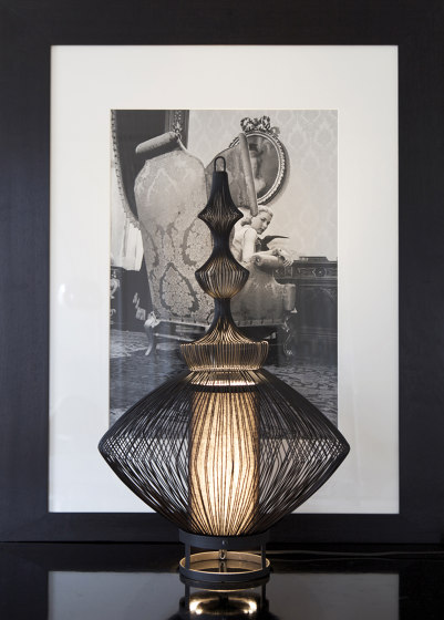 Tibet | Pendant Lamp | Black by Forestier