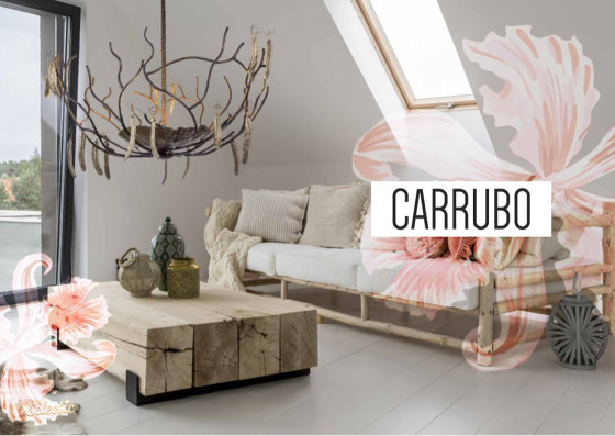 Carrubo | Carob beans chandelier by Il Bronzetto - Brass Brothers & Co