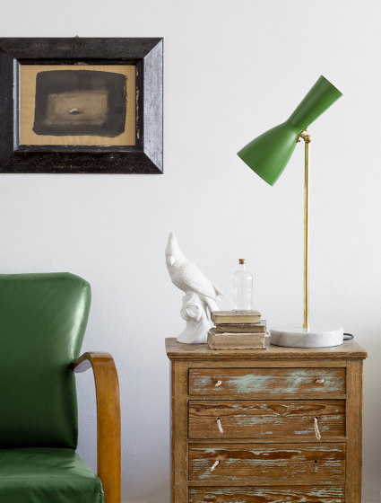 Wormhole | Vintage Table lamp de Il Bronzetto - Brass Brothers & Co
