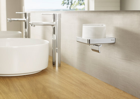 Tempo   Wall-mounted gel dispenser by ROCA