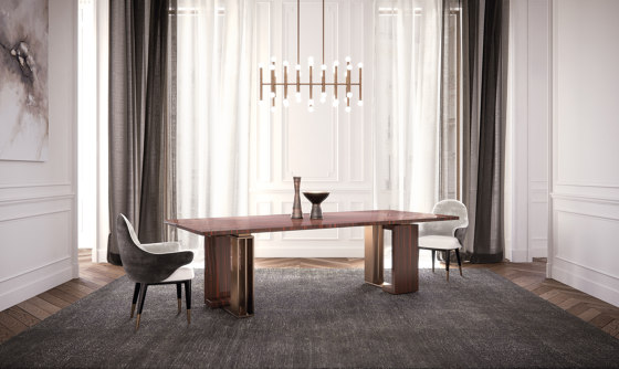 Tycoon Dining Table de Capital