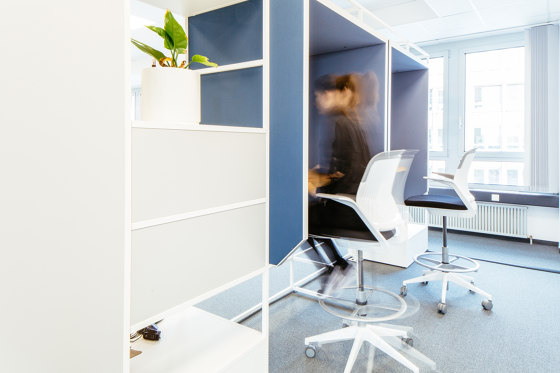 Module K – Silent workplace 650 by Artis Space Systems GmbH