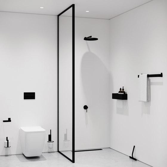 Toilet Paper Holder Extra - Black by Nichba Design