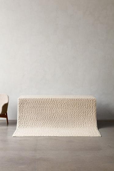 Gravel Rug | 170x200 | Ivory by MENU