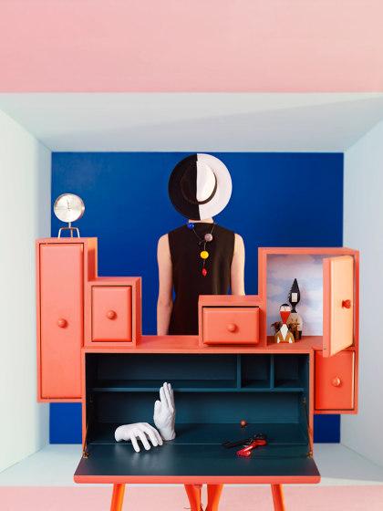 CONFIDENCE OF A CLOUD | Secretary Desk | Black de Maison Dada