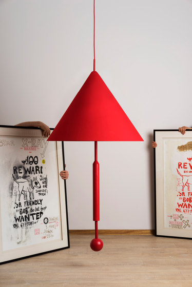 OBJECT OF DISCUSSION   Pendant Lamp   Yellow by Maison Dada