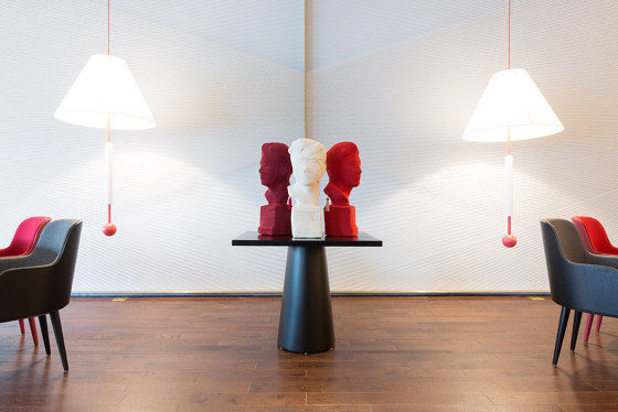 THIS IS NOT A SELF PORTRAIT   Decorative Object   Red by Maison Dada