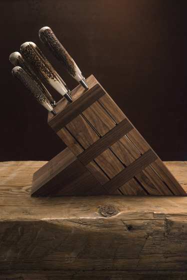 KNIVES BLOCK by Officine Gullo